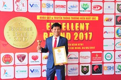 MARK OF QUALITY VIETNAM : EXCELLENT BRAND 2017