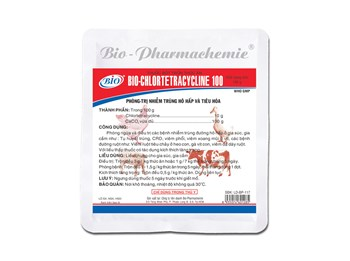 BIO-CHLORTETRACYCLINE 100